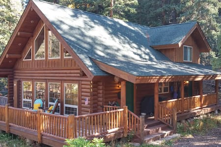 Custom Log Home 7 Minutes to Lifts - Blue River - House