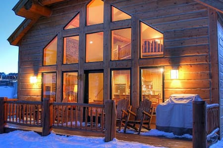 Luxury Home Near Base of Mt. Crested Butte - 克雷斯特德比特(Crested Butte)
