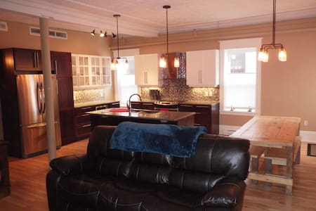 Downtown 2 Bedroom Luxury Apartment - Fredericton - Appartement