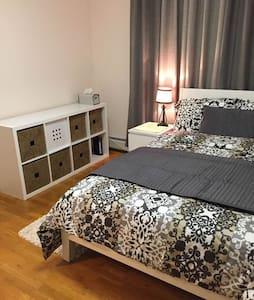 Quiet & Cozy private room close to NYC - Palisades Park - Haus