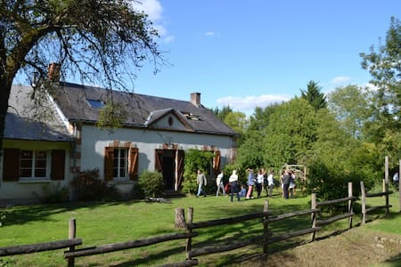 Magnifique maison forestière en pleine nature - Nibelle