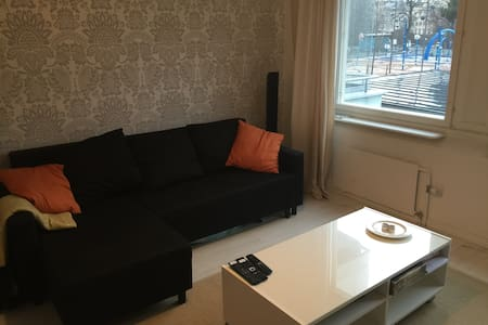Central Tampere, 2-room apartment - Byt