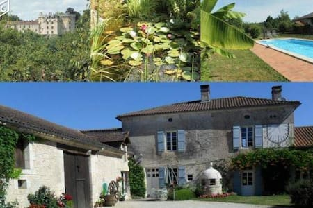 Gites Dordogne avec piscine - La Chapelle-Faucher - Huis