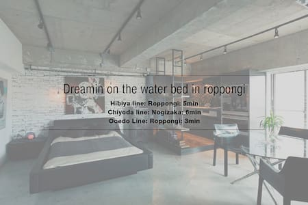 Dreamin on the Water bed In Roppongi - Flat