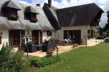 Maison de charme de la vallée de l'Yères - House