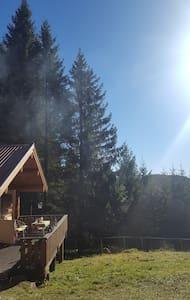 Charming cabin near Fjellsjøkampen - Hurdal - Casa de campo