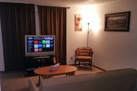 Cozy 1 bedrom apt - Short drive to Niagara Falls - Apartamento