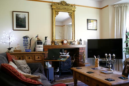 En-suite double room, Llanfairfechan, North Wales - Casa