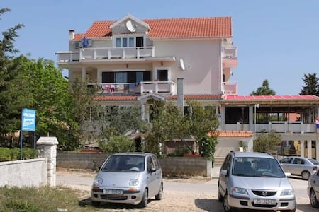One bedroom apartment with balcony and sea view Vrsi - Mulo, Zadar (A-3276-a) - Vrsi - Other