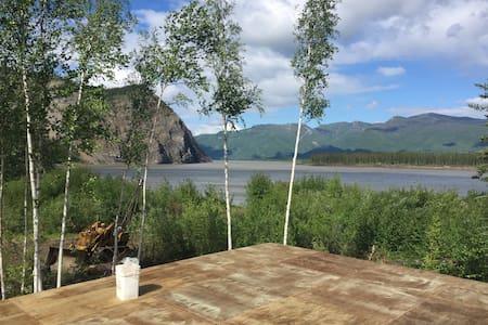 Alaska Yukon River Calico Bluff Yurt - Jurta