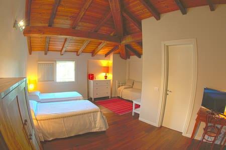 Camera spaziosa doppia/tripla - 3 Ospiti - Calderara di Reno - Bed & Breakfast