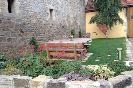 Urfränkischer Bauernhof Einzelbett - Ochsenfurt - Bed & Breakfast