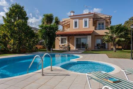 Villa Elessa - Gerani Villas with private pool - Gerani, Rethymno