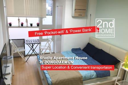 NEW 2nd HOME @ 1Min to Dongdaemun & DDP - Apartament