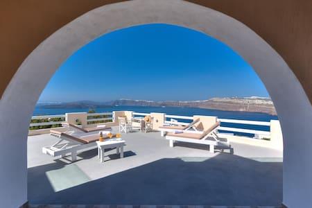 Akrotiri apartment with caldera view 1 - Apartamento