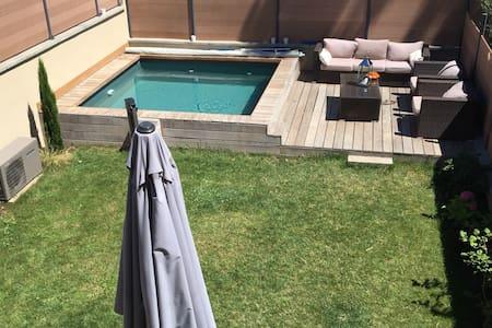 Maison 15 minutes de Lyon piscine - Haus