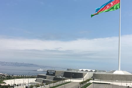Просторная квартира около Нового Бульвара - Baku