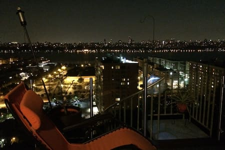 2BedRm house w/NYC Skyline view from private deck! - Cliffside Park - Ev