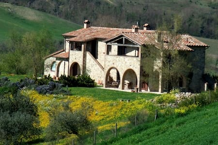 Olmo,border betwen Umbria,Tuscany.. - Fabro - Apartment