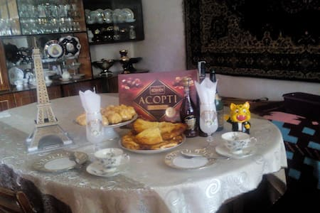 WELCOME TO AKHALTSIKHE.Cosy family friendly home. - Akhaltsikhe - Bed & Breakfast
