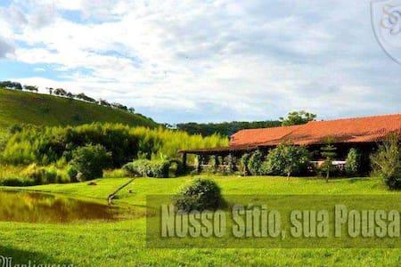 Sitio Pousada Mantiqueira - Oda + Kahvaltı