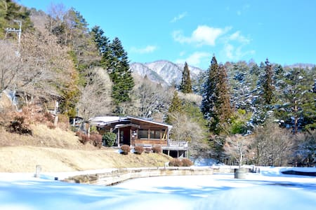 Quiet retro-house with lake! - Peace&One Urashima - Bed & Breakfast