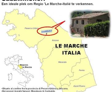 Logeren bij Nederlanders in Le Marche - Pergola (PU)