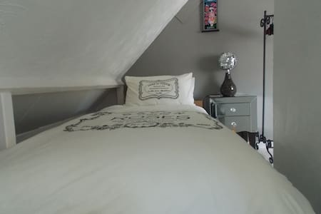 Attic room in Victorian town house - Newport - Rumah