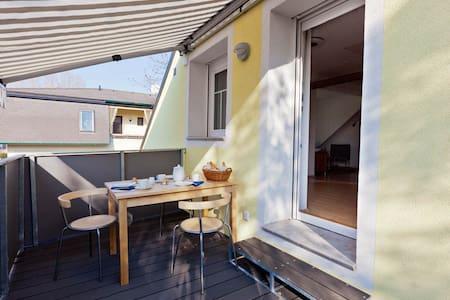 Studio-Apartment mit Dachterrasse - Appartamento