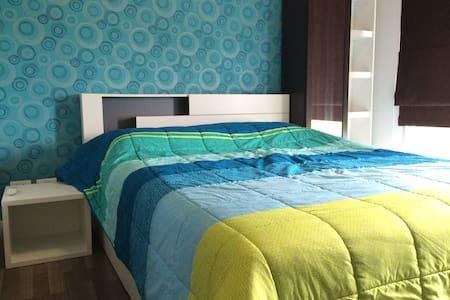 Clean & Modern near Suvarnabhumi Airport - Apartment