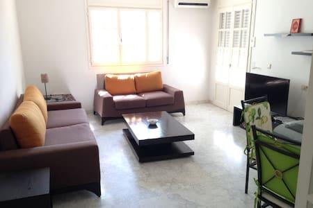 Appartement cosy S+2 à la Soukra - Appartement