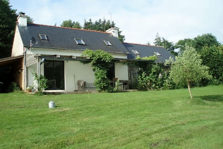 Eco-friendly rural retreat - Le Haut-Corlay - Huis