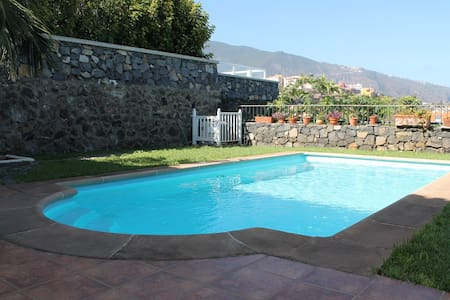 Fragata - Townhouse with pool, wifi, near beach - Puerto de la Cruz - Apartemen