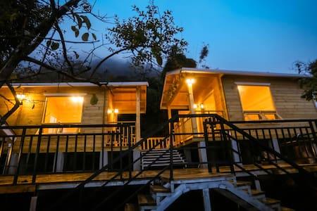 石门国家森林公园享受亲近大自然的半山小木屋单床木屋两间,可单租也可整租 - 广州市从化区 - Cabanya