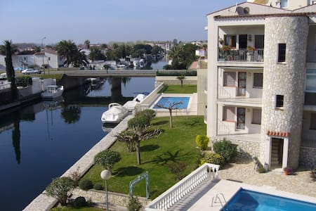 Empuriabrava Flamicell+Pool+Canal