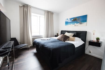 Central apartment with own parking - Jönköping - Departamento