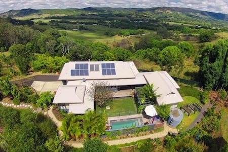 Rainbows End,  Luxury Byron Hinterland Appartment - Daire