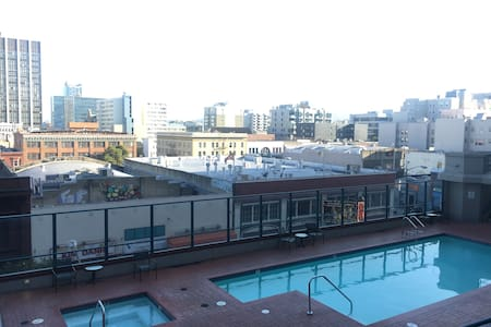 Union Square apartment with outdoor pool and gym - San Francisco - Apartment