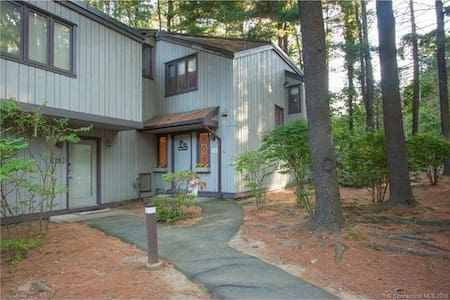 Condo in the Woods, near everything! - Farmington