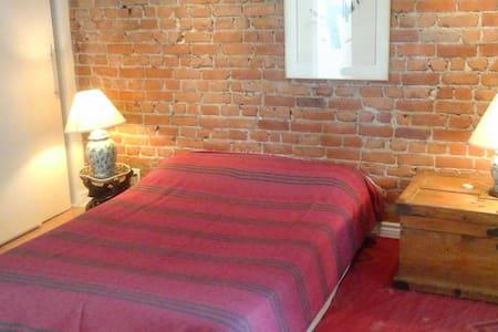 Great room &bathroom, ideal location/chambre + sdb - Montréal - Lejlighed