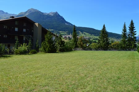 Cozy apartment surrounded by the Swiss Alps - Cunter - Apartamento