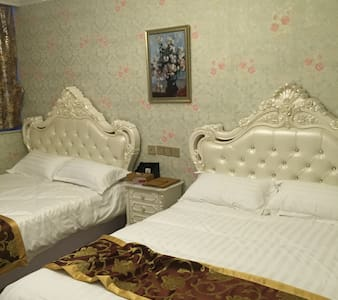 European style luxury double beds room - Yantai
