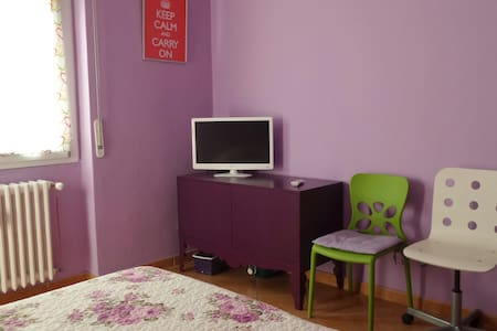 At Rho, city of Expo 2015, we offer room in apartment with 2 beds andTV. Smoking is allowed only on the balcony of the room. The bathroom room is shared, we offer towels and shampoo and dryer. We also offer italian breakfast.