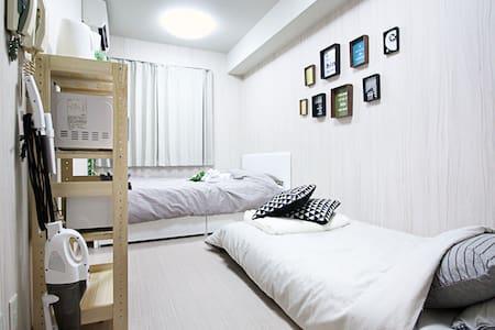 「Namba&Shinsaibashi. Sweet home. 6min to station. - Chūō-ku, Ōsaka-shi - Apartment