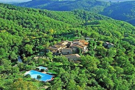 Casa Il Portico,Montefienali,Gaiole in Chianti - Huoneisto