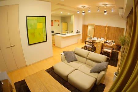 3min Namba 83㎡ 2bedroom FreeWiFi - Naniwa-ku - Apartament