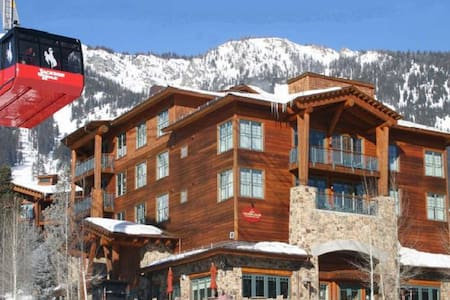 Teton Club-Ski-in/Out to Tram & Gondola-2 Bedroom - Jackson - 公寓