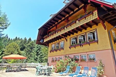 """Ferienhaus """"Fichtenhof am Wasserfall"""" - Rumah Tamu"""