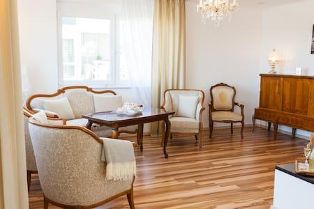 Deluxe Apartment, Ausblick auf Vogesen & Straßburg - Muu