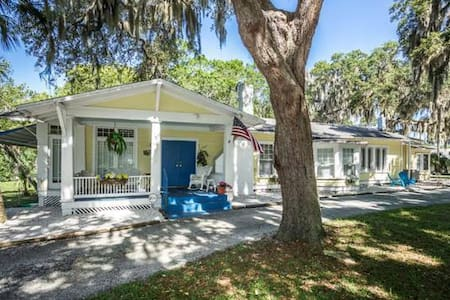 Cottage on  The Cotee - New Port Richey